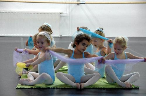 De Haarlemse Balletschool – Peuter en kleurdans